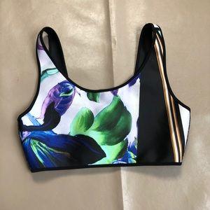 Clover canyon Printed bikini Top XS